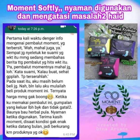 TESTIMONI MOMENT SOFTLY