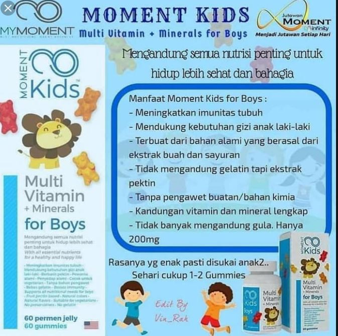 moment kids for boy